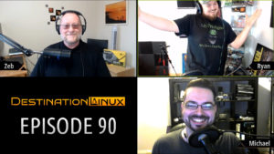 Destination Linux EP90 - Pixelated Twilight Zone