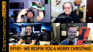 Destination Linux EP101 - We Respin You A Merry Christmas
