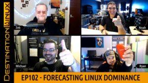 Destination Linux EP102 - Forecasting Linux Dominance