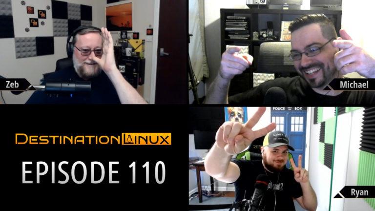 Destination Linux EP110 - Matrix Revolutions