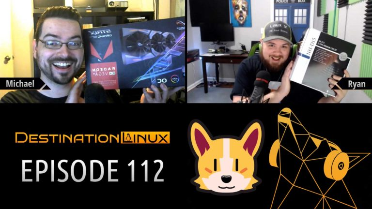 Destination Linux EP112 - Disco Balls and Corgi Paws