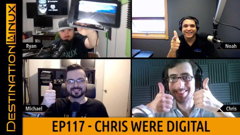 Destination Linux EP117 - Chris Were Digital