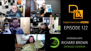 Destination Linux EP122 - Richard Brown of openSUSE