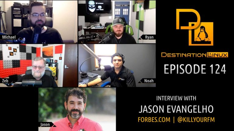 Destination Linux EP124 - Jason Evangelho of Forbes