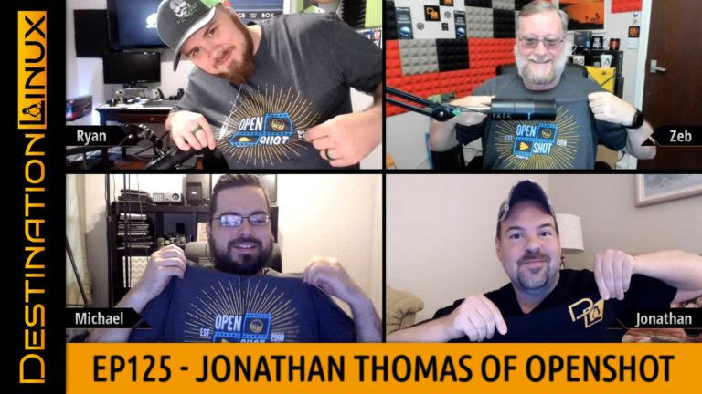 Destination Linux EP125 - Jonathan Thomas of OpenShot