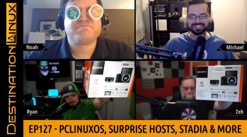 Destination Linux EP127 – PCLinuxOS, Surprise Patron Hosts