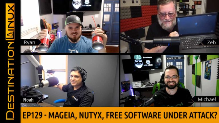 Free Software Under Attack?, Mageia, NuTyX, KDE, Whonix, Pi4, Steam, AMD - Destination Linux EP129