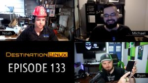 Linux in Virtual Reality, Blender 2.80, Linux Mint, Librem 5, Red Hat AMA - Destination Linux 133