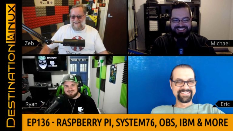 Raspberry Pi, System76 Firmware Tool, OBS, IBM Open-Source POWER, EVERSPACE - Destination Linux 136