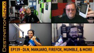 Manjaro, Firefox VPN, Mumble, LVFS, Pine64 Smartwatch, RawTherapee, WSL - Destination Linux 139