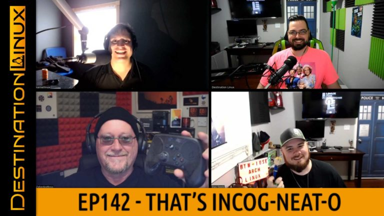 That's Incog-Neat-o! - Destination Linux 142