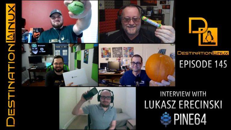 Interview with Lukasz Erecinski of Pine64, GNOME vs Trolls, Ubuntu's New Desktop Director - DL145